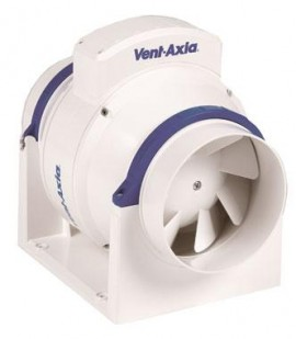 Poze Ventilator ACM100 Vent-Axia, in line, axial de tubulatura, diametru 100 mm, debit 255 mc/h, 2 viteze