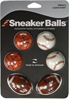 Ароматизатор за обувки Sneaker Balls, 6 бр.