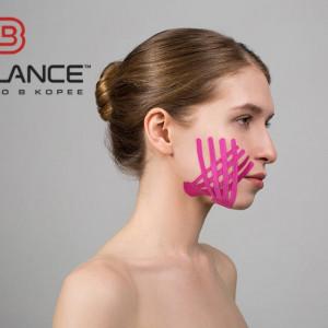 Копринен тейп за лице BB FACE TAPE™ 2.5 см × 10 м (Южна Корея)