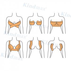 Тейп за бюст Kindmax Лифтинг лента за повдигане на гърдите. Невидима лента за сутиен.