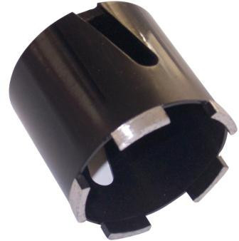 Carota diamantata pt. caramida, beton & zidarie -5 segmenti diam. 82mm - Profesional Standard - DXDH.80007.82.5 imagine criano.com