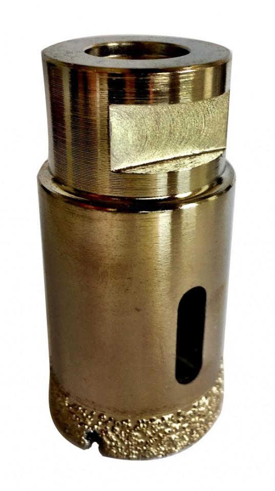 Carota diamantata pt. gresie portelanata & piatra - diam. 55mm - Super Premium - DXDH.80407.55.10
