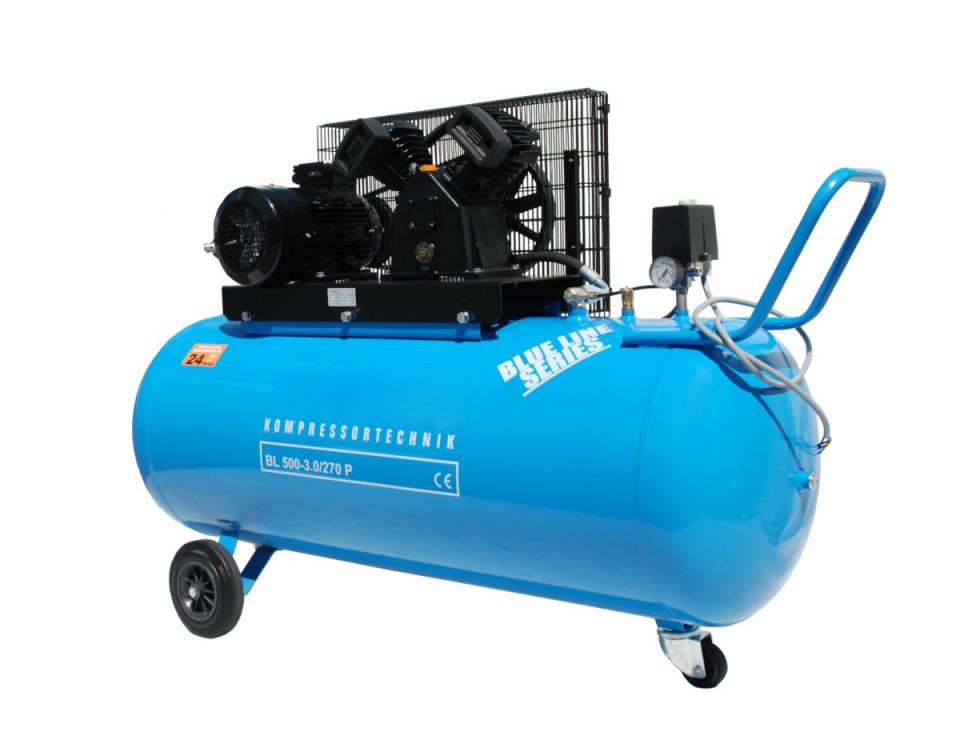 Compresor cu piston - Blue Line 3kW , 500 L/min - Rezervor 270 Litri - WLT-BLU-500-3.0/270 imagine criano.com
