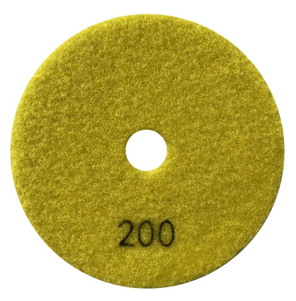 Paduri / dischete diamantate pt. slefuire uscata #200 Ø125mm - DXDY.DRYPAD.125.0200 imagine criano.com