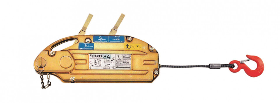 Troliu cu cablu 800kg - Alba-8-A( 512964)
