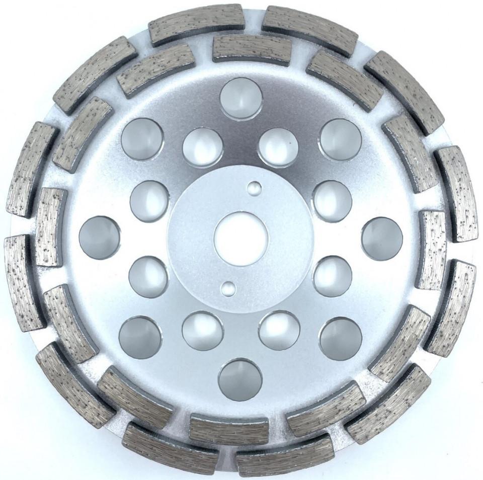 Cupa diamantata, rand dublu diamant - Beton/Abrazive 180mm Profesional Standard - DXDY.SDCC.180 imagine criano.com