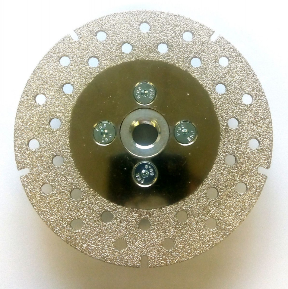 Disc diamantat (galvanizat) pt. taiat si slefuit CDP 115 SuperPremium - taiere uscata