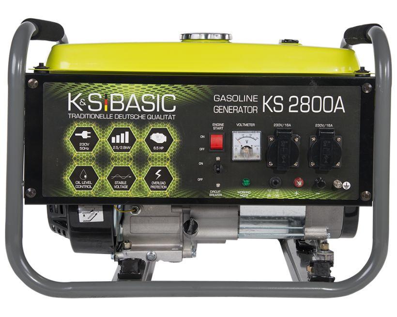 Generator de curent 2.8 kW benzina BASIC LINE - Konner & Sohnen - KSB-2800A( 511259)