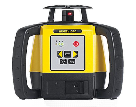 Nivela Laser Rotativa Rugby 640 - Leica (Continut:: Pachet de Baza) imagine criano.com