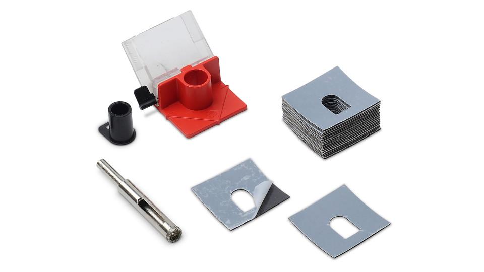 Carota diamantata pt. portelan, placi ceramice EasyGres kit 10mm - RUBI-4929( 512080)