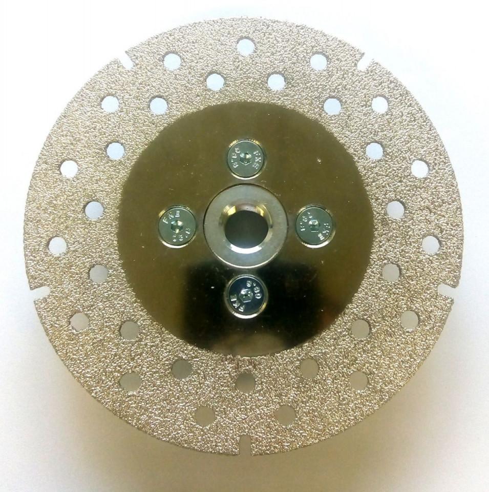 Disc diamantat (galvanizat) pt. taiat si slefuit CDP 125 SuperPremium - taiere uscata