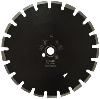 Disc DiamantatExpert pt. Asfalt, Caramida & Abrazive 600x25.4 (mm) Premium - DXDH.17317.600.25( 511456)