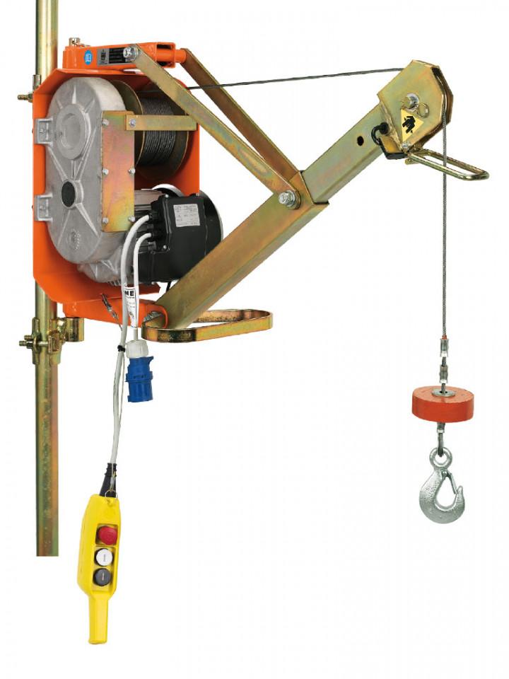 Electropalan Profesional cu Brat Extensibil 300 kg, 40 metri cablu - IORI-DM300AP-ELEF40m imagine criano.com