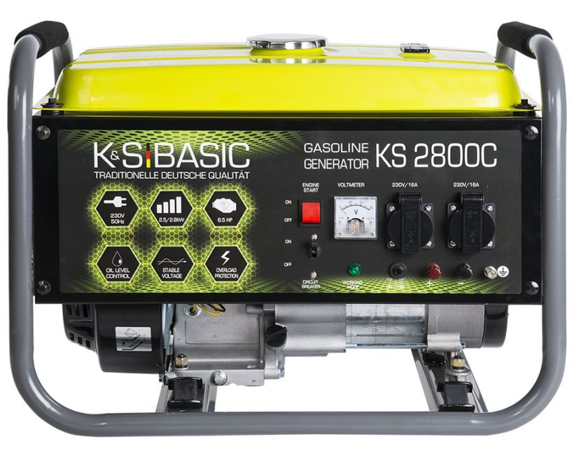 Generator de curent 2.8 kW benzina BASIC LINE - Konner & Sohnen - KSB-2800C( 511242)