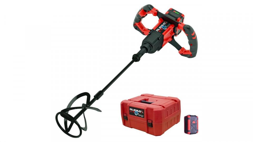 Mixer / amestecator pt. adezivi / mortar 18V, 90L, Rubimix E-10 Energy - RUBI-26965 title=Mixer / amestecator pt. adezivi / mortar 18V, 90L, Rubimix E-10 Energy - RUBI-26965