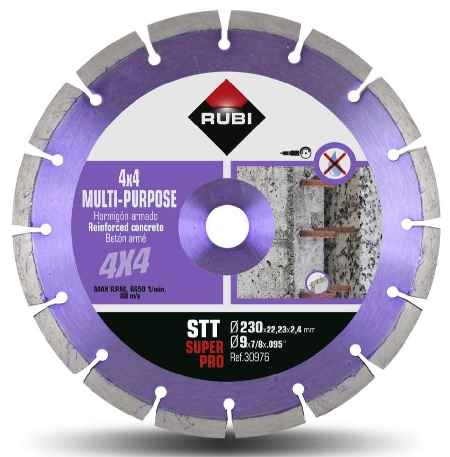 Disc diamantat multi-uz 230mm, STT 230 SuperPro - RUBI-30976 imagine criano.com