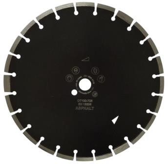 Disc DiamantatExpert pt. Asfalt, Caramida & Abrazive 600x25.4 (mm) Profesional Standard - DXDH.17217.600.25( 511457)