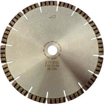 Disc DiamantatExpert pt. Beton armat & Piatra - Turbo Laser SANDWICH 350mm Premium - DXDH.2097.350-SW (Ø interior disc: 30mm) imagine criano.com