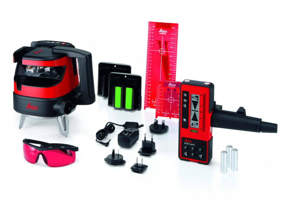 Nivela Laser multilinie cu auto-nivelare electronica, Lino ML180 - Leica-784438( 513145)