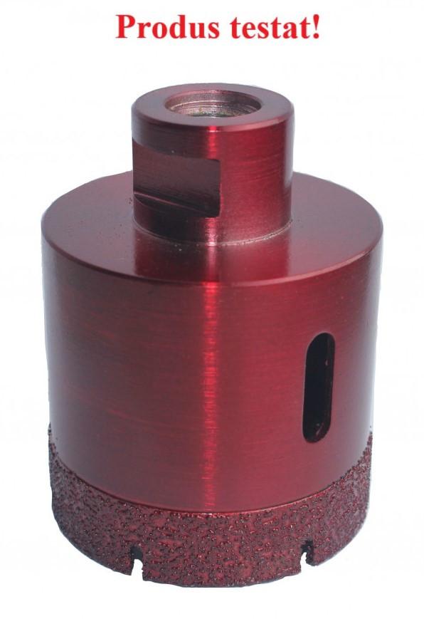 Carota diamantata pt. gresie portelanata & piatra - diam. 68mm - Premium - DXDH.80408.68.10