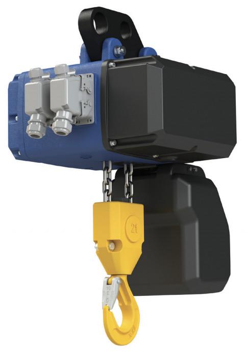 Electropalan 1 CLF-E, 1000kg (viteza 1-4 m/min) - Podem (Tip Prindere: carucior electric - telecomanda) imagine criano.com