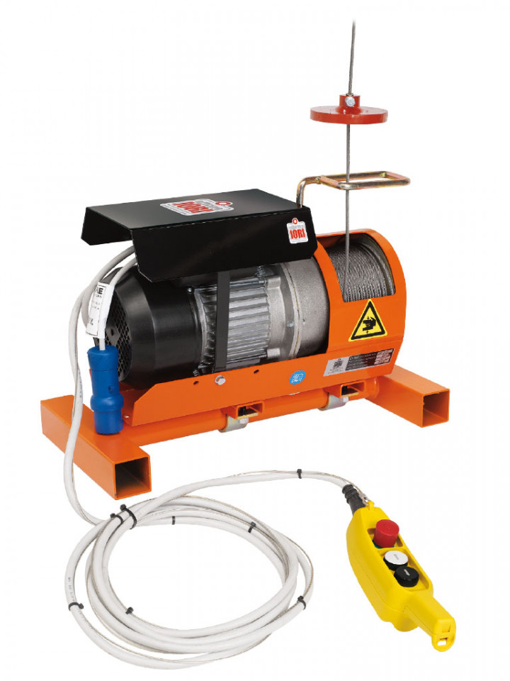 Electropalan Profesional 150 kg, 2 x 25 metri cablu - IORI-DM150ITT-VX-25m imagine criano.com
