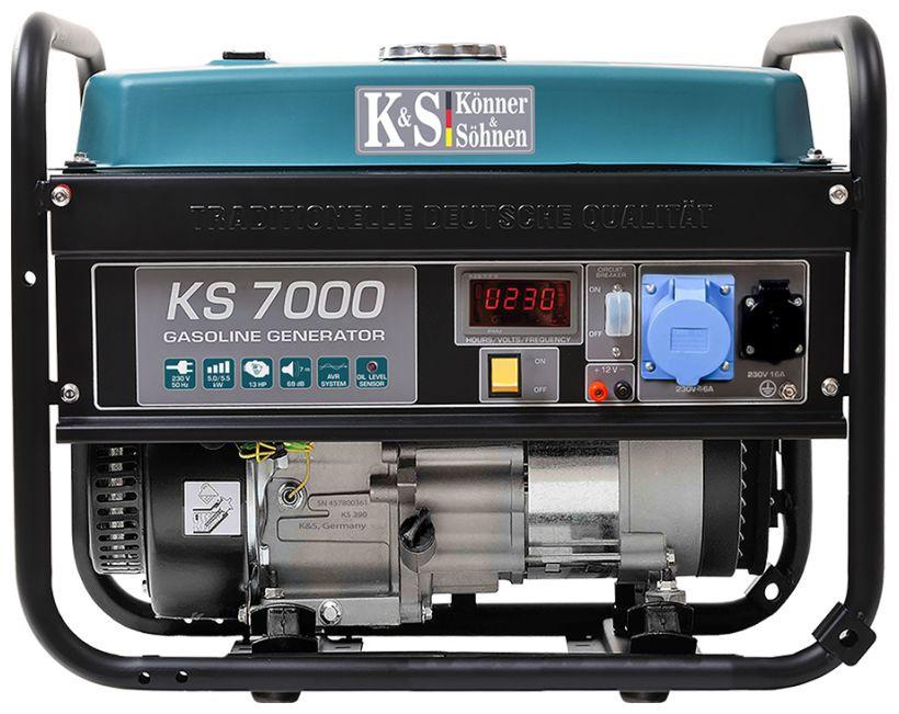 Generator de curent 5.5 kW benzina PRO - Konner & Sohnen - KS-7000 imagine criano.com