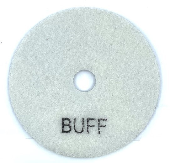 Paduri / dischete diamantate pt. slefuire uscata #BUFF Ø100mm - DXDY.DRYPAD.100.BUFF imagine criano.com