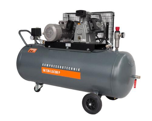 Compresor cu piston - Profesional 3kW , 530 L/min - Rezervor 200 Litri - WLT-PROG-530-3.0/200 imagine criano.com