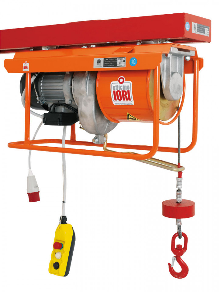 Electropalan Profesional 800 kg, 40 metri cablu - IORI-DT800D-40m Motor Trifazic imagine criano.com