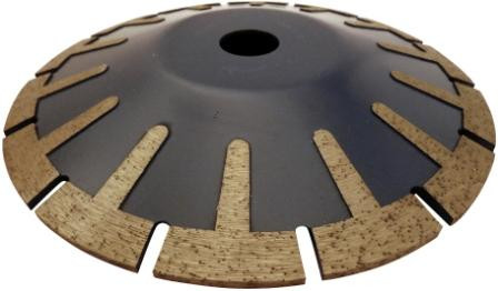 Disc DiamantatExpert pt. taiere curbata in piatra, granit, placi 125x22.2 (mm) Premium - DXDH.5517.125 imagine criano.com