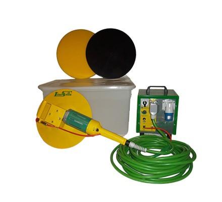 Drisca electrica - Finisare umeda tencuieli si gleturi mecanizate fara sistem de apa, cu cutie de accesorii - LS-SP11( 512846)