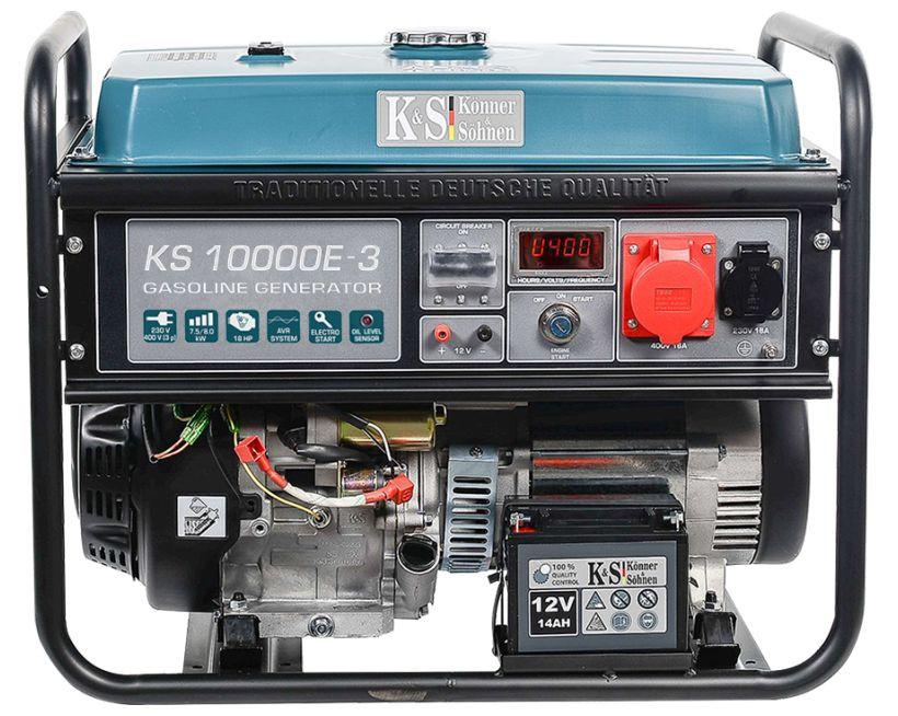 Generator de curent 8 kW benzina PRO - Konner & Sohnen - KS-10000E-3 title=Generator de curent 8 kW benzina PRO - Konner & Sohnen - KS-10000E-3