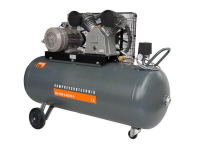 Compresor cu piston - Profesional 4kW , 630 L/min - Rezervor 270 Litri - WLT-PROG-630-4.0/270 imagine criano.com