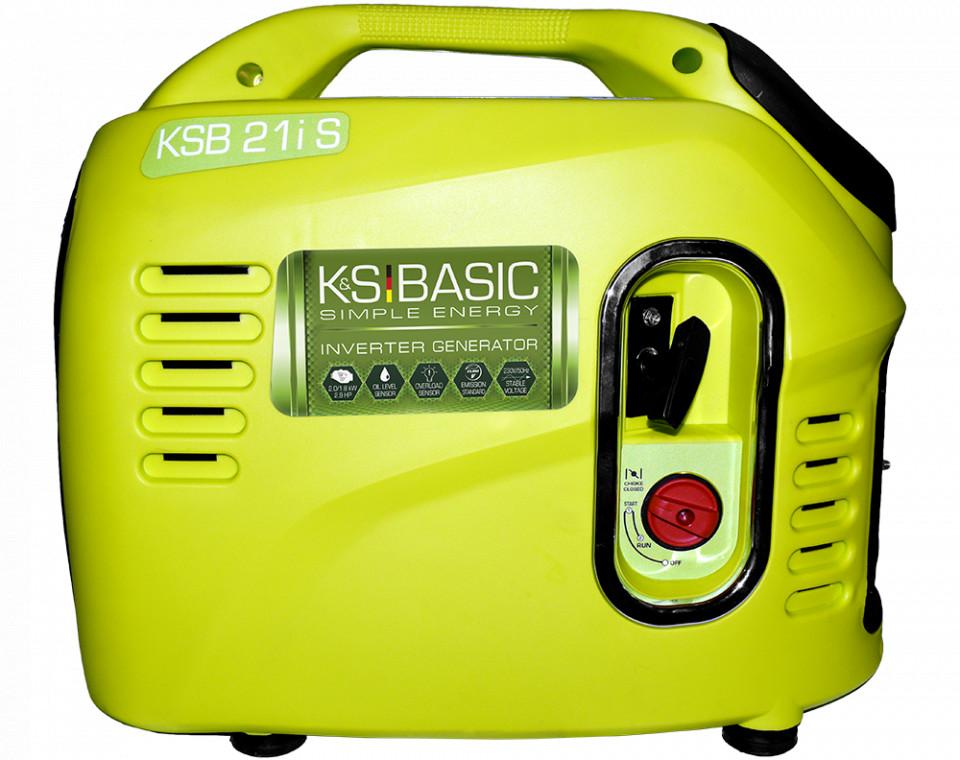 Generator de curent 2 kW inverter BASIC - benzina - SILENTIOS - Konner & Sohnen - KSB-21iS imagine criano.com