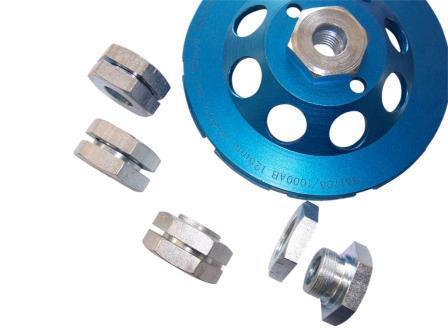 Adaptor 22,2mm in M14 - pentru cupe diamantate sau discuri cu interior de 22,2mm - DXDH.80607 imagine criano.com