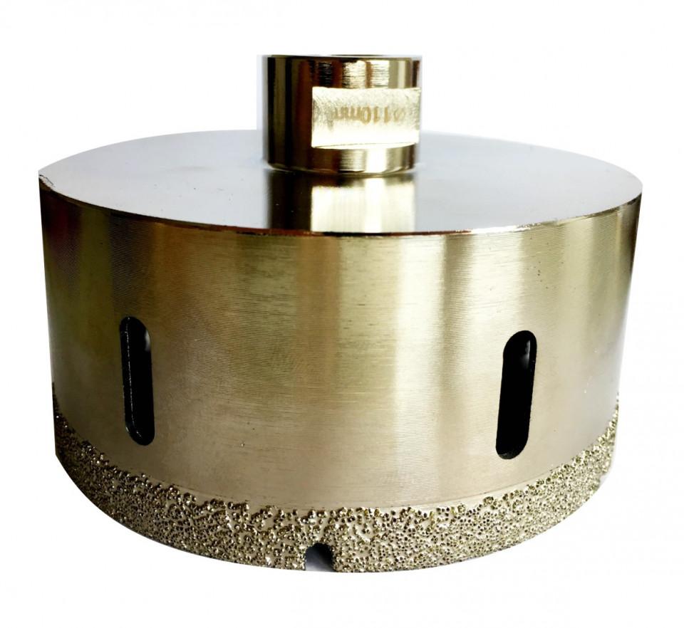 Carota diamantata pt. gresie portelanata & piatra - diam. 75mm - Super Premium - DXDH.80407.75.10