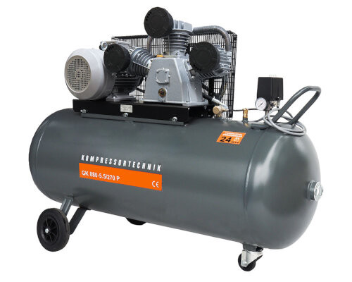 Compresor cu piston - Profesional 5,5kW , 880 L/min - Rezervor 270 Litri - WLT-PROG-880-5.5/270 imagine criano.com