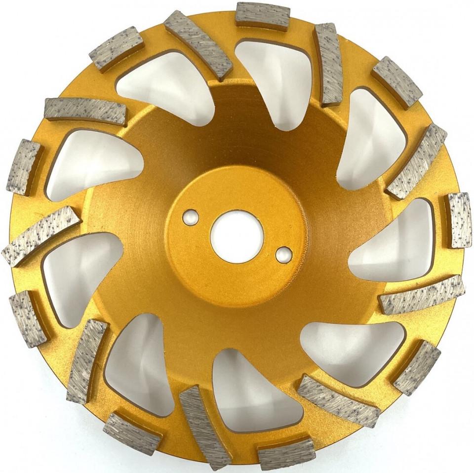 Cupa diamantata, segment tip ventilator - Beton/Abrazive 180mm Premium - DXDY.PSCC.180 imagine criano.com