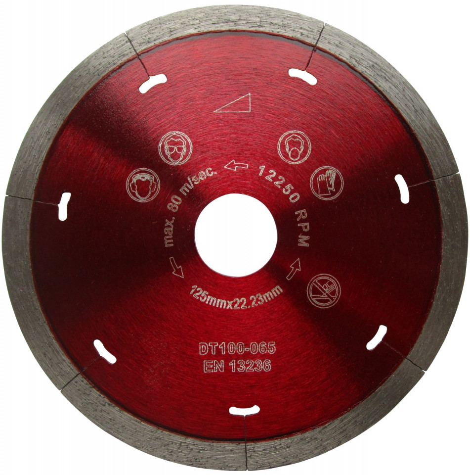 Disc DiamantatExpert pt. Ceramica Dura & Portelan - Rapid 350mm Super Premium - DXDH.3907.350 (Ø interior disc: 30mm) imagine criano.com
