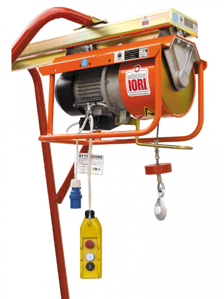 Electropalan Profesional 300 kg, 40 metri cablu - IORI-DM300E-40m imagine criano.com