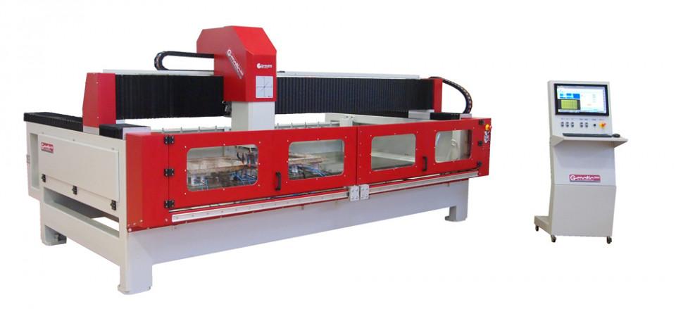 G-matic 3000, centru de lucru CNC, pentru frezare si gravare in piatra - Ghines imagine criano.com