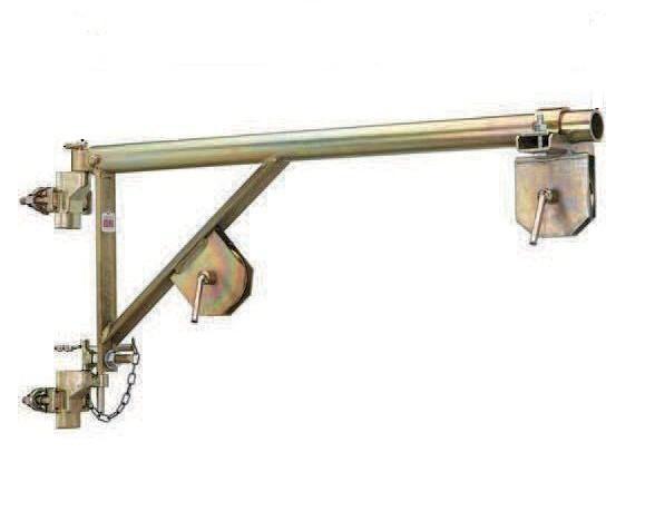 Brat cu scripete pt. electropalane la baza schelei, L = 90 cm - IORI-B7 imagine criano.com