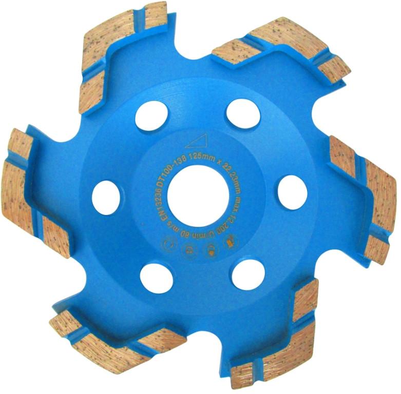 Cupa diamantata tip stea pt. Beton/Granit/Sapa 125mm Premium - DXDH.4200.125 imagine criano.com