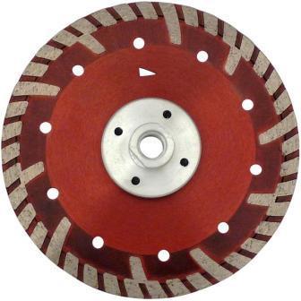 Disc DiamantatExpert pt. Beton armat & Granit - cu flansa 230xM14 (mm) Super Premium - DXDH.2287.230-Flansch imagine criano.com