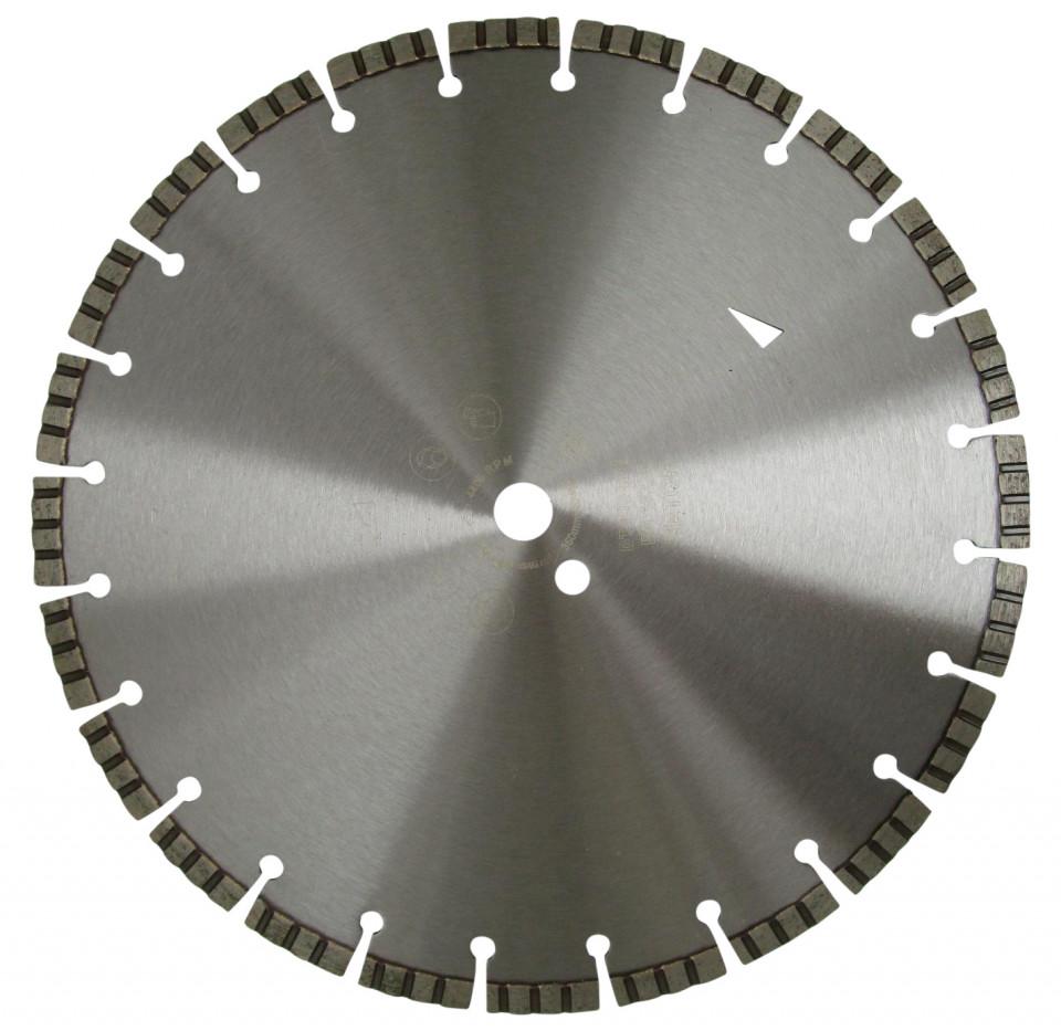 Disc DiamantatExpert pt. Beton armat - Turbo Laser 400mm Profesional Standard - DXDH.2017.400 (Ø interior disc: 25,4mm) imagine criano.com