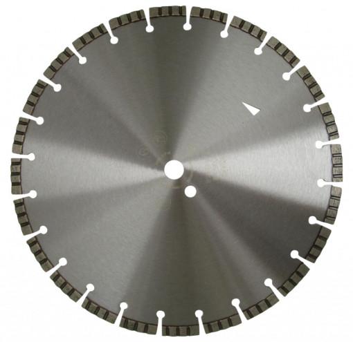 Disc DiamantatExpert pt. Beton armat - Turbo Laser 450x25.4 (mm) Profesional Standard - DXDH.2017.450.25