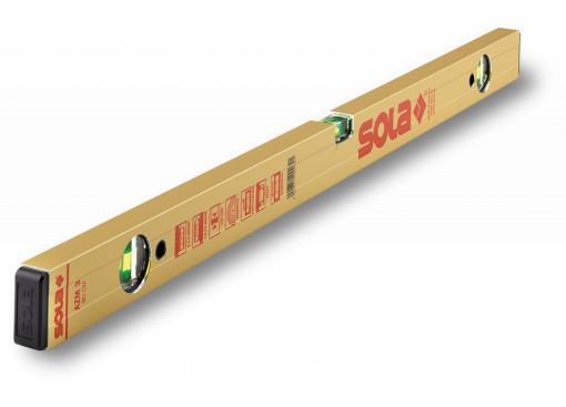 Nivelă cu bula ( Boloboc ) cu profil tubular, 120cm AZM 3 120 - Sola-01823401