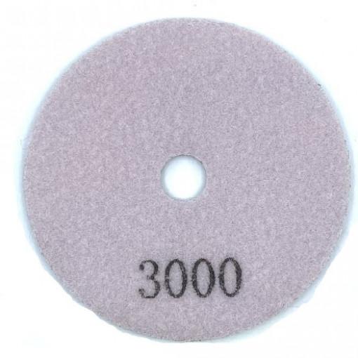 Paduri / dischete diamantate pt. slefuire uscata #3000 Ø100mm - DXDY.DRYPAD.100.3000