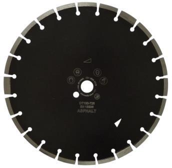 Disc DiamantatExpert pt. Asfalt, Caramida & Abrazive 500x25.4 (mm) Profesional Standard - DXDH.17217.500.25